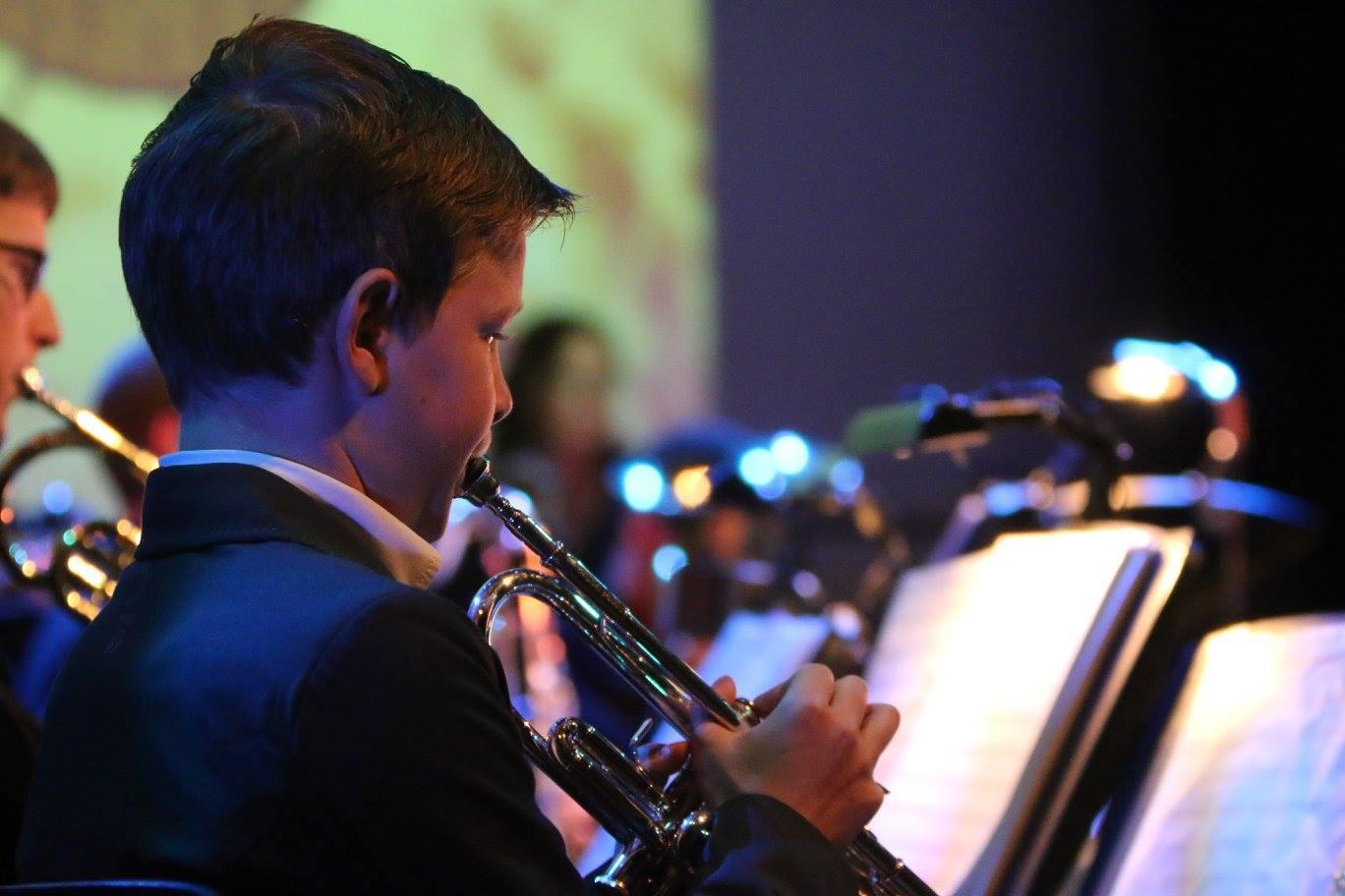 Muzikant leerlingen orkest Zoetermeer - Harpe Davids