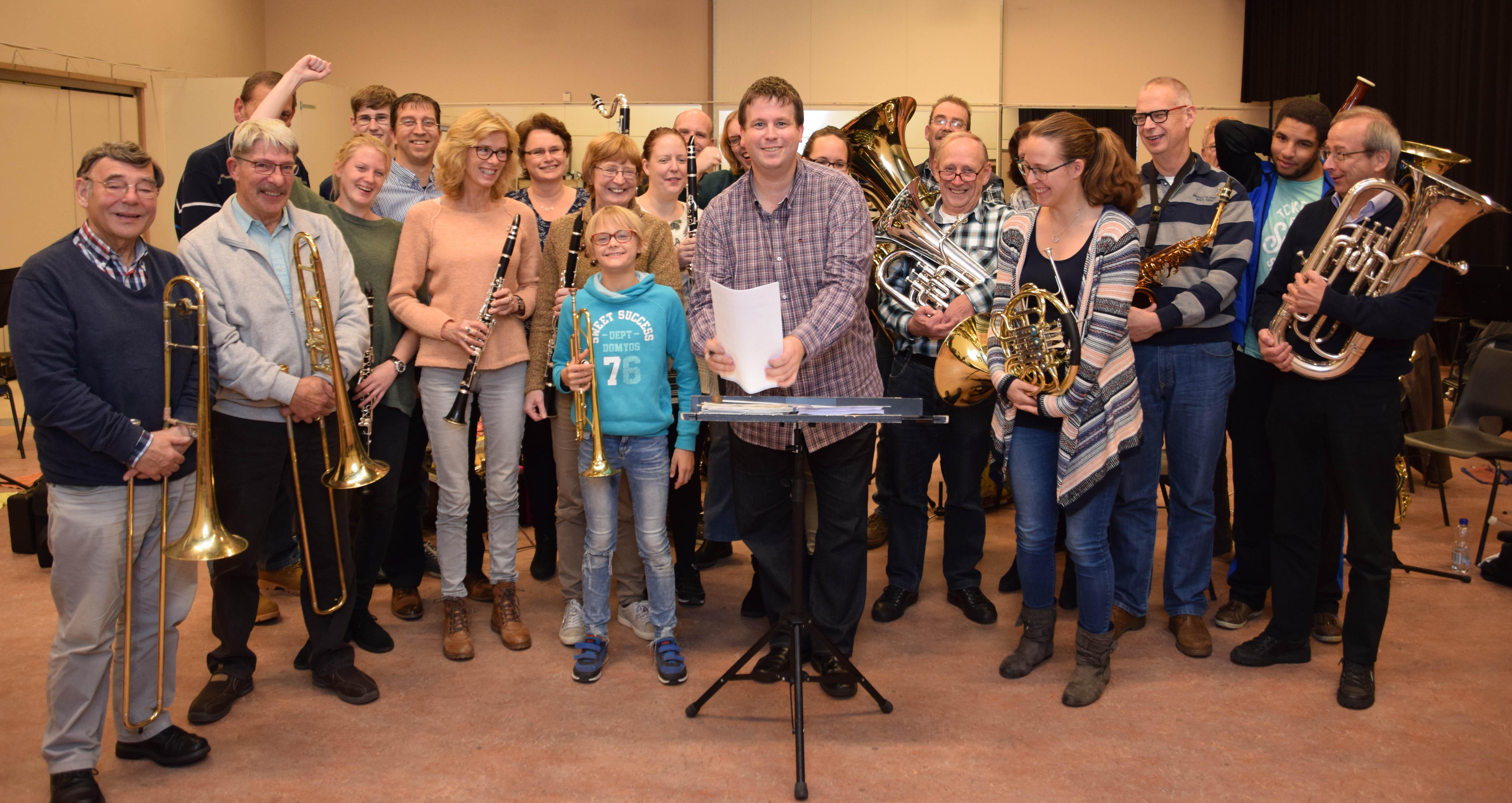 Dirigent Harmonie orkest Zoetermeer - Harpe Davids