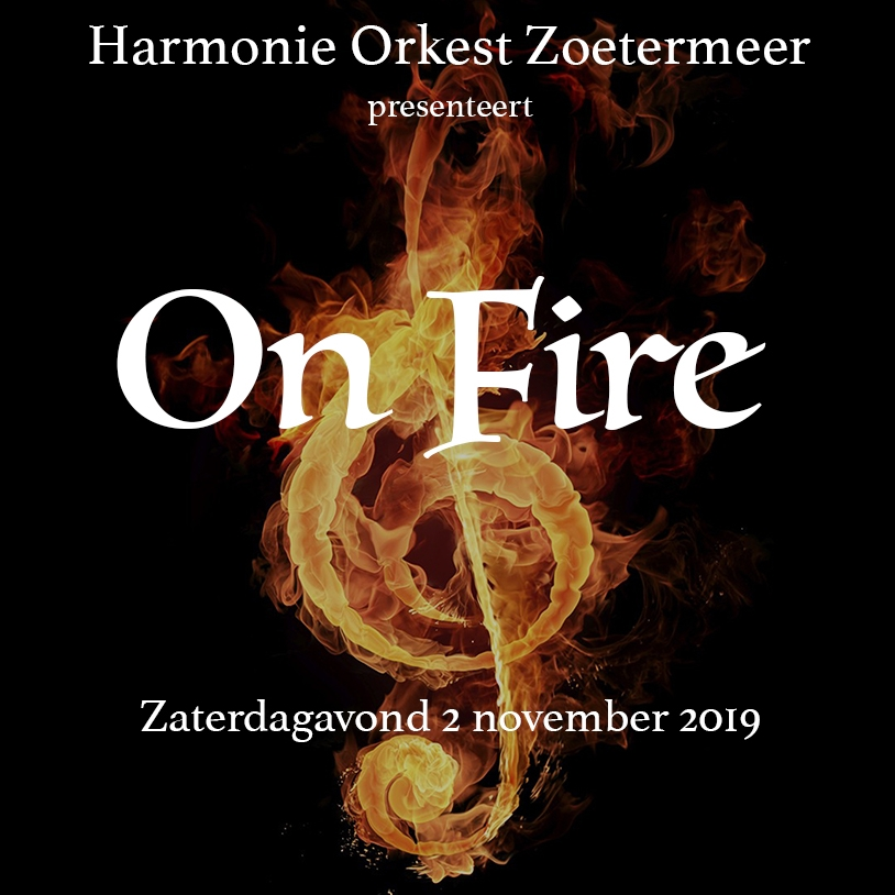On Fire – Najaarsconcert 2019